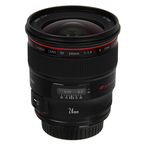 Объектив CANON 24mm f/1.4 EF II USM, Canon EF [2750b005]