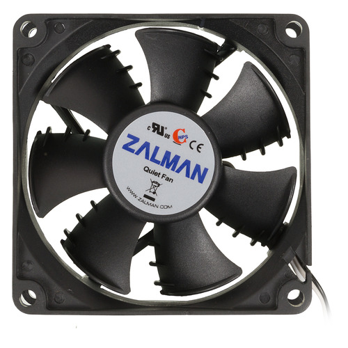 Вентилятор ZALMAN ZM-F1 Plus (SF), 80мм, Ret вентилятор zalman zm f3 led sf bl 120mm 1200rpm