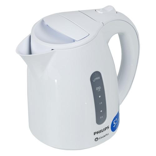 Чайник электрический PHILIPS HD4646/00, 2400Вт, белый
