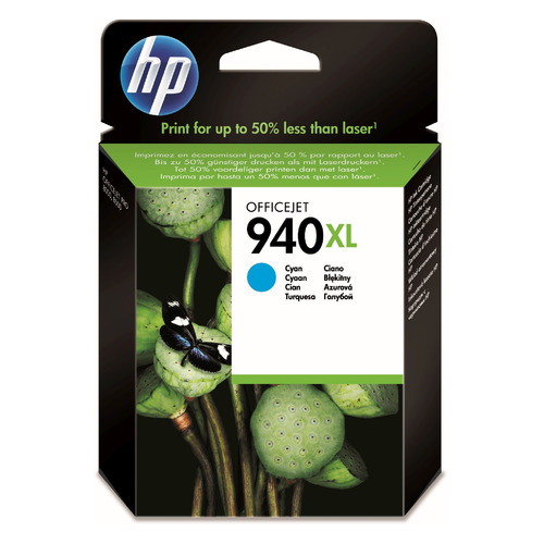 Картридж HP 940XL, голубой / C4907AE