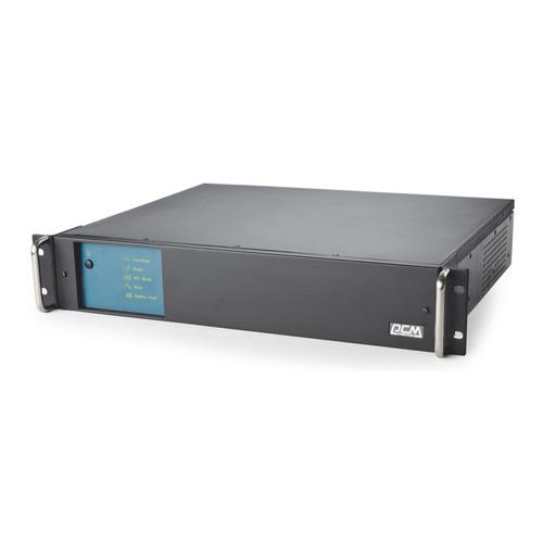 цены ИБП POWERCOM King Pro RM KIN-1200AP RM, 1200ВA [kin-1200ap rm (2u) usb, rs-232]