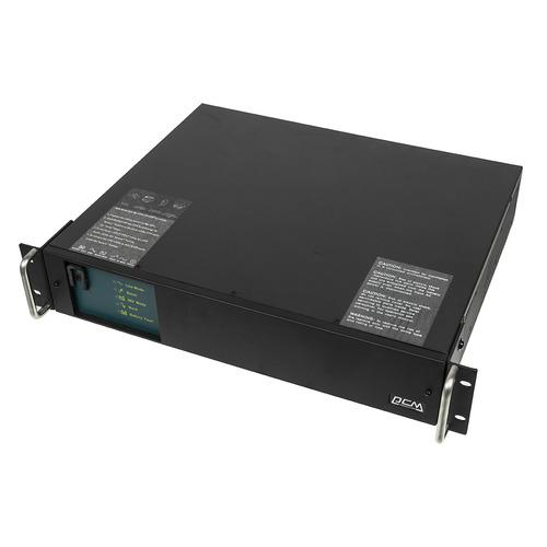 ИБП POWERCOM King Pro RM KIN-1500AP RM, 1500ВA [kin-1500ap rm (2u) usb, rs-232] ибп powercom kin 3000ap rm 3u usb rs 232