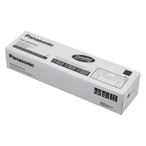 Картридж PANASONIC KX-FAT411A7, черный