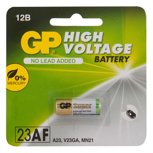 MN21 Батарейка GP Ultra Alkaline 23AF, 1 шт. ag8 lr55 1 55v alkaline cell button batteries 10 piece pack