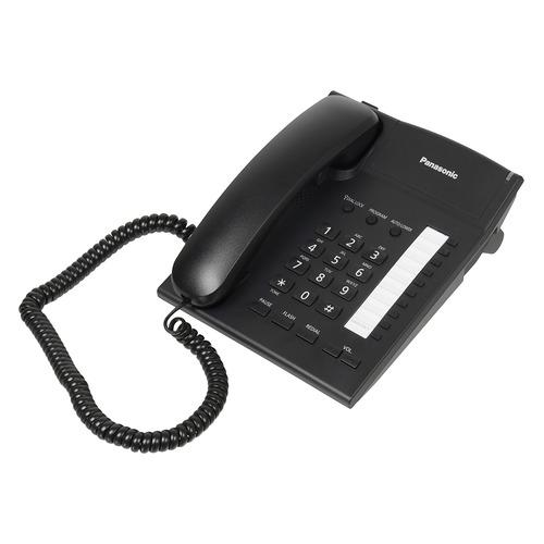 цена на Проводной телефон PANASONIC KX-TS2382RUB, черный