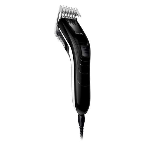 машинка для стрижки волос qc5115 15 1 насадка Машинка для стрижки Philips QC5115 черный/белый [qc5115/15]