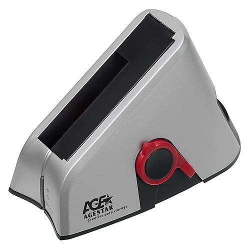 Док-станция для HDD AGESTAR 3UBT, серебристый система резервного копирования hpe rdx500 b7b64a