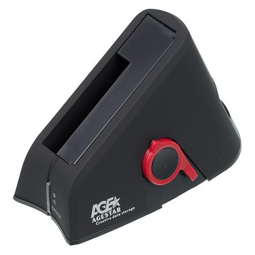 Док-станция для HDD AGESTAR 3UBT, черный система резервного копирования hpe rdx500 b7b64a
