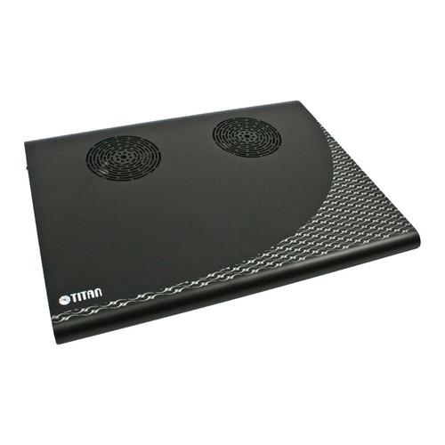 Подставка для ноутбука Titan TTC-G3TZ325x263.5x29мм 16.9дБ 2x 70ммFAN алюминий черный цена и фото