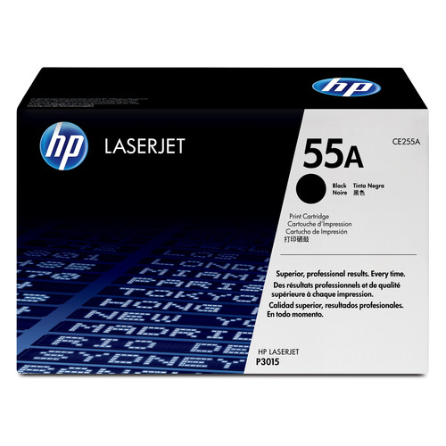 Картридж HP 55A, черный [ce255a] hwdid ce255a 255a 255 55a compatible toner cartridge for hp p3010 3010 p3015 3015 p3016 3016 for canon lbp6750dn 6750 printer