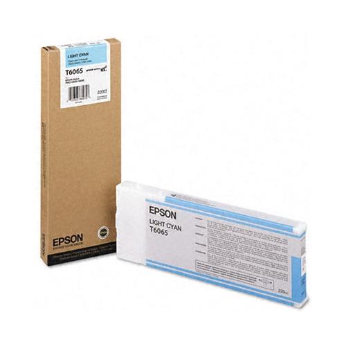 Картридж EPSON T6065, светло-голубой [c13t606500]