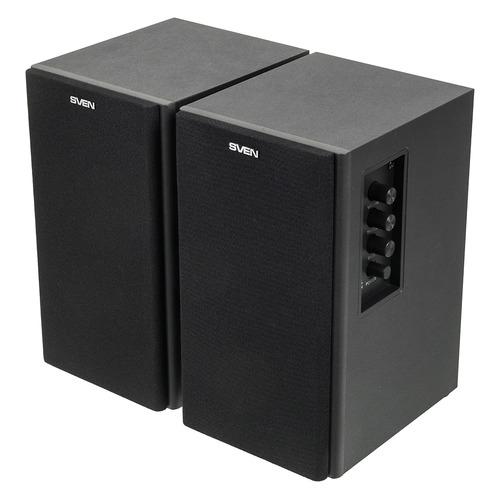 Колонки SVEN SPS-611S, 2.0, черный [sv-0120611sbl] SV-0120611SBL