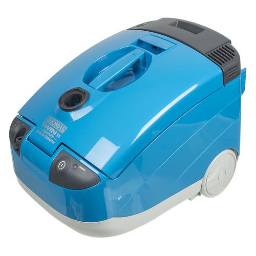 лучшая цена Моющий пылесос THOMAS TWIN T1 Aquafilter, 1600Вт, голубой/серый