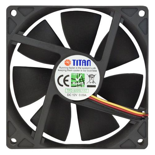 цена на Вентилятор TITAN TFD-9225L12Z, 90мм, Ret
