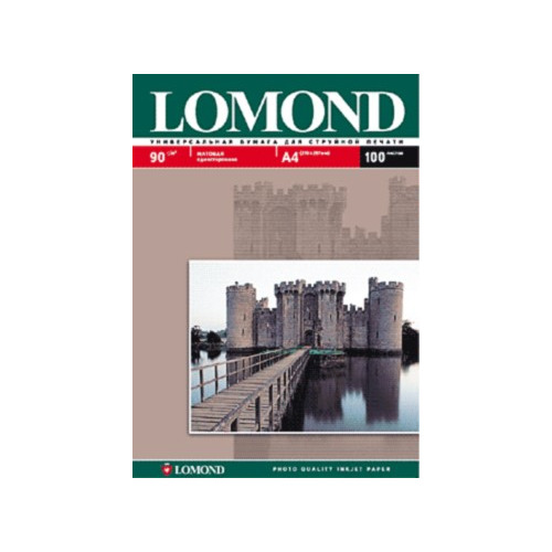 Фото - Фотобумага Lomond 0102029 A4/90г/м2/25л./белый матовое для струйной печати калька hp c3868a 90г м2 белый для струйной печати