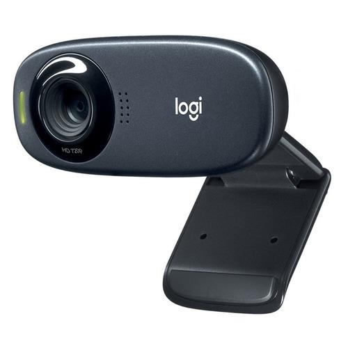 Web-камера LOGITECH HD Webcam C310, черный [960-001065] камера web logitech pro stream c922 usb2 0 с микрофоном 960 001088 473299 черный