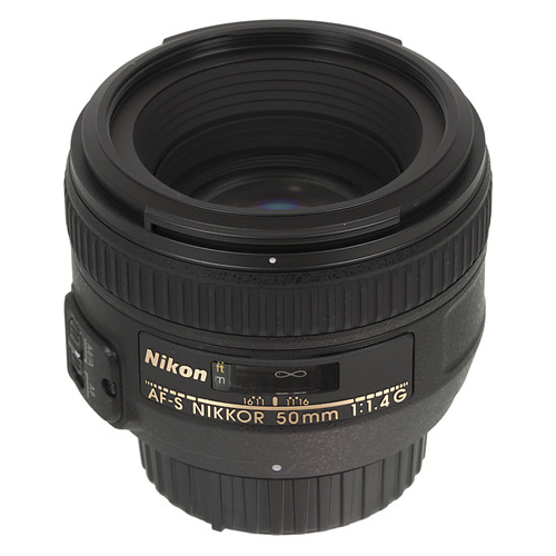 Фото - Объектив NIKON 50mm f/1.4 Nikkor AF-S, Nikon F [jaa014da] объектив tokina opera 50mm f1 4 ff af для nikon