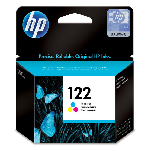 Картридж HP 122 многоцветный [ch562he] for hp 122 black ink cartridge for hp 122 xl deskjet 1000 1050 2000 2050 3000 3050a 3052a printer
