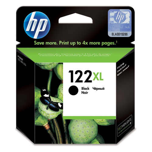 Картридж HP 122XL черный [ch563he] for hp 122 black ink cartridge for hp 122 xl deskjet 1000 1050 2000 2050 3000 3050a 3052a printer