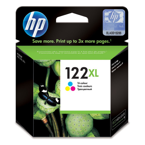 Картридж HP 122XL многоцветный [ch564he] for hp 122 color ink cartridge for hp122 122xl deskjet 1000 1050 1050a 1510 2000 2050 2050a 2540 3000 3050 3050a printer