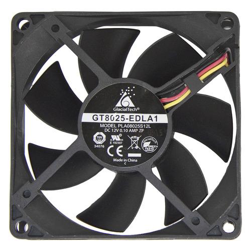 Вентилятор GLACIALTECH GT8025-EDLB1, 80мм, Bulk цена