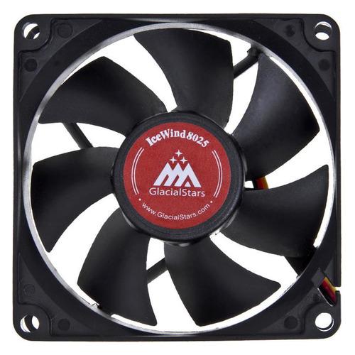 Вентилятор GLACIALTECH IceWind JT-8025L12S001A, 80мм, Bulk цена