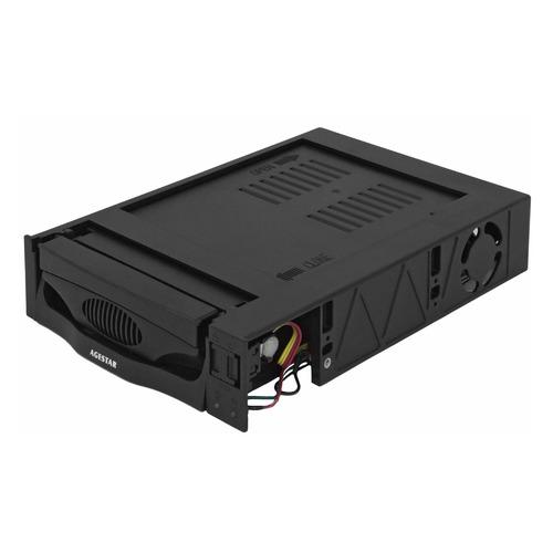 Mobile rack (салазки) для HDD AGESTAR MR3-SATA(SW)-1F, черный