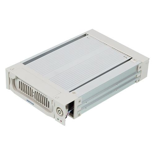 все цены на Mobile rack (салазки) для HDD AGESTAR AMR1- SATA(K)-3F, серебристый онлайн