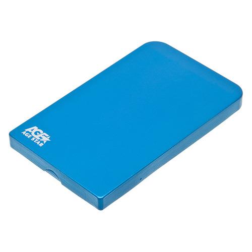 Внешний корпус для HDD AGESTAR 3UB2O1, синий цена и фото