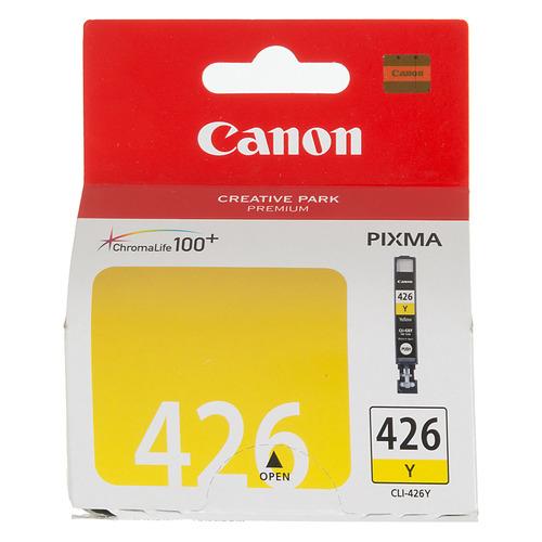 цена Картридж CANON CLI-426Y, желтый [4559b001]