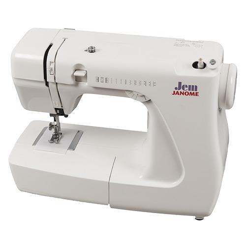 Швейная машина JANOME Jem белый цена в Москве и Питере