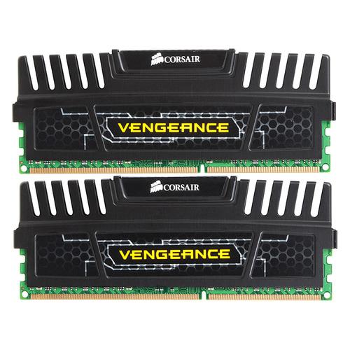 Модуль памяти CORSAIR Vengeance CMZ8GX3M2A1600C9 DDR3 - 2x 4ГБ 1600, DIMM, Ret CMZ8GX3M2A1600C9 по цене 4 390