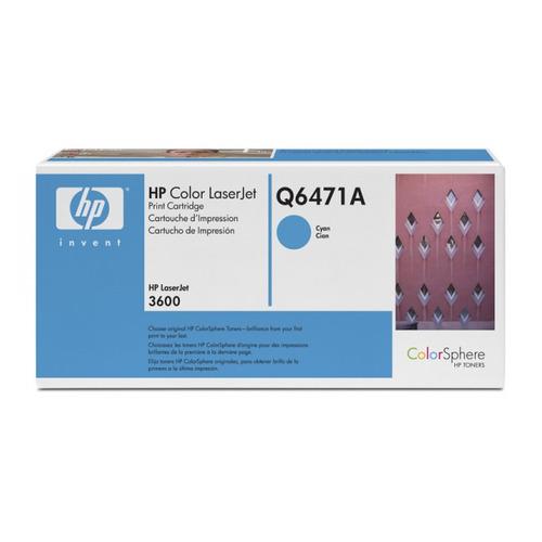 Картридж HP Q6471A, голубой картридж sakura q6471a 711c