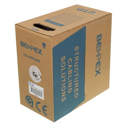 цена на Кабель сетевой UTP, cat.5E, 305м, 2 пары, 24AWG, 0.40мм, CCA, одножильный (solid), 1 шт