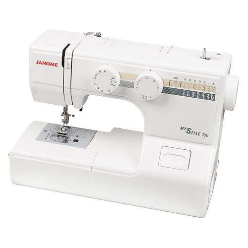 Швейная машина JANOME My Style 100 белый [100ms]