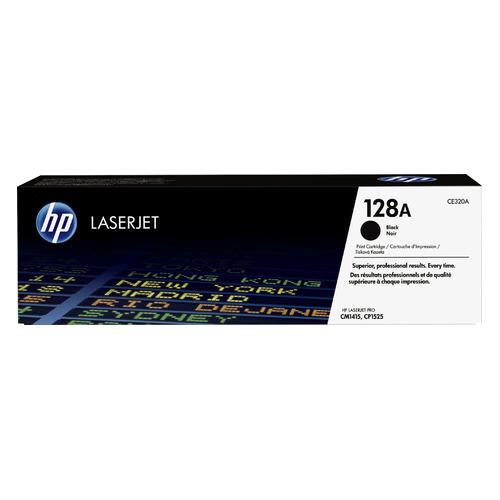 Картридж HP 128A, черный [ce320a] цена