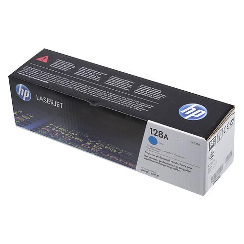 Картридж HP 128A, голубой [ce321a] цена и фото