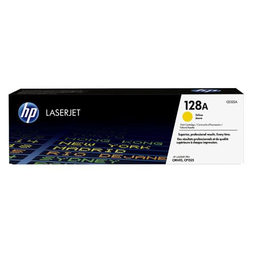 Картридж HP 128A, желтый [ce322a] цена и фото