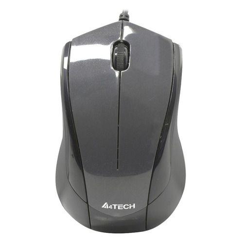 Мышь A4 V-Track Padless N-400-1, оптическая, проводная, USB, серый мышь a4 v track padless n 770fx черный