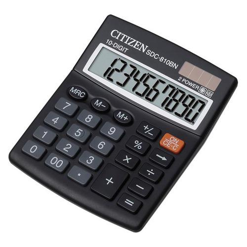 цена на Калькулятор CITIZEN SDC-810BN, 10-разрядный, черный