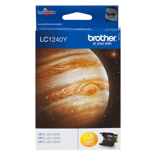 Картридж BROTHER LC1240Y желтый replacement ink cartridge for brother mfc j6510dw more