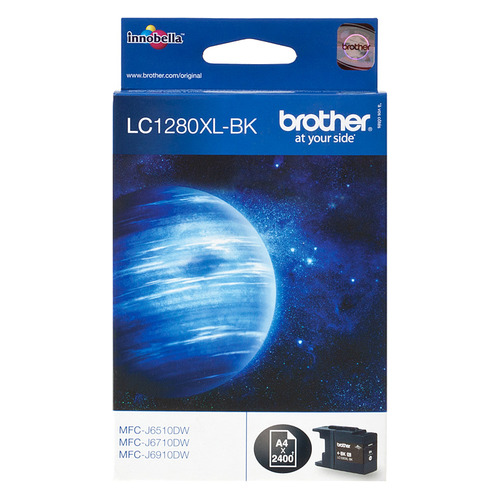 Картридж BROTHER LC1280XLBK черный снпч brother mfc j6910dw