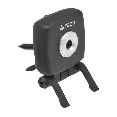 Фото - Web-камера A4 PK-836F, черный и серебристый [pk-836f (black)] web камера a4 pk 635e черный [pk 635e black ]