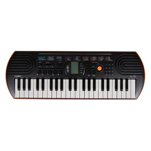 Синтезатор CASIO SА-76, 44, невзвешенная, малоразмерные, 8 оранжевый [sa-76]