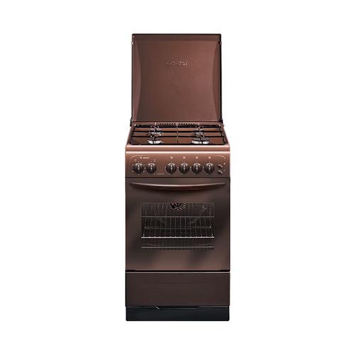 Газовая плита GEFEST 3200-05 К19, газовая духовка, коричневый [пг 3200-05 к19] газовая плита gefest пг 3200 08 газовая духовка белый