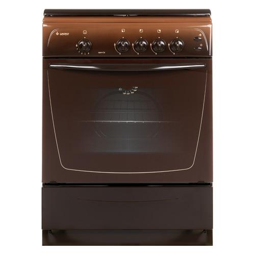 Газовая плита GEFEST ПГ 1200-С6 К19, газовая духовка, коричневый газовая плита gefest пг 3200 08 газовая духовка белый