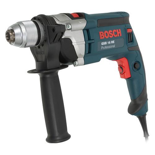 Дрель ударная BOSCH GSB 16 RE Professional [060114e500] дрель электрическая bosch psb 500 re 0603127020 ударная