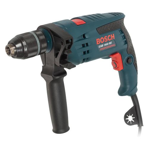 Дрель ударная BOSCH GSB 1600 RE Professional [0601218121] электроинструмент bosch gsb 16 re professional