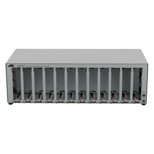 Шасси Allied Telesis AT-MCR12-50 12slot media converter rackmount with redundant power option