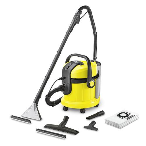 Моющий пылесос Karcher SE4001, 1400Вт, желтый/черный [1.081-130.0]